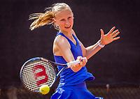 Rotterdam, Netherlands, August21, 2017, Rotterdam Open, Emily Casteleyn (BEL)<br /> Photo: Tennisimages/Henk Koster