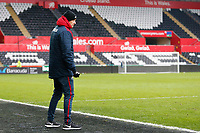 Sunday 18 March 2018<br /> Pictured:  Cameron Toshack<br /> Re: Swansea City v Manchester United U23s in the Premier League 2 at The Liberty Stadium on March 18, 2018 in Swansea, Wales.