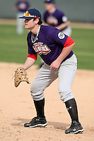 January 16, 2010:  Gavin Fayard (Metairie, LA) of the Baseball Factory South Team during the 2010 Under Armour Pre-Season All-America Tournament at Kino Sports Complex in Tucson, AZ.  Photo By Mike Janes/Four Seam Images