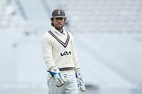 Ben Foakes of Surrey CCC during Surrey CCC vs Hampshire CCC, LV Insurance County Championship Group 2 Cricket at the Kia Oval on 1st May 2021