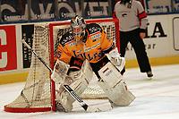 Goalie Gusten Törnqvist (Lulea)<br /> Djurgardens IF vs. Lulea HF<br /> *** Local Caption *** Foto ist honorarpflichtig! zzgl. gesetzl. MwSt. Es gelten ausschließlich unsere unter <br /> <br /> Auf Anfrage in höherer Qualitaet/Aufloesung. Belegexemplar an: Marc Schueler, Am Ziegelfalltor 4, 64625 Bensheim, Tel. +49 (0) 6251 86 96 134, www.gameday-mediaservices.de. Email: marc.schueler@gameday-mediaservices.de, Bankverbindung: Volksbank Bergstrasse, Kto.: 151297, BLZ: 50960101