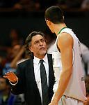 DKV Juventud's coach Pepu Hernandez during ACB match.October 17,2010. (ALTERPHOTOS/Acero)