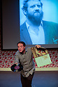Edinburgh, UK. 03.08.2012. Mark Thomas appears in BRAVO! FIGARO, a play about his relationship with his father, an opera-loving builder. Photo credit: Jane Hobson