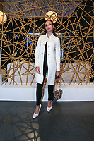 NOVA YORK,USA, 13.02.2019 - MODA-NOVA YORK - Influenciadora Izabela Melo durante desfile da grife Rosa Cha no New York Fashion Week (NYFW) em Nova York nesta quarta-feira, 13.(Foto: Vanessa Carvalho/Brazil Photo Press)