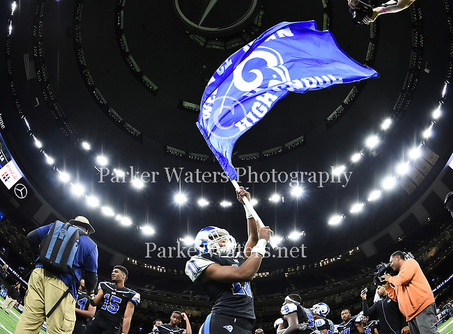 Highlights from the 2017 LHSAA football state championships held in the Mercedes-Benz Superdome, New Orleans, LA on December 7,8 and 9.  Images are not available for purchase and are for Editorial Purposes Only.