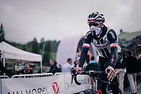 bandit going down the mountain again after the stage<br /> <br /> Stage 5: Grenoble > Valmorel (130km)<br /> 70th Critérium du Dauphiné 2018 (2.UWT)