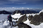 A cheval sur la frontiere de l Ouganda et de la République démocratique du Congo, le massif du Ruwenzori abrite la pointe Margherita (5109 m), troisième plus haute montagne d Afrique Alors que ces glaciers s etendaient sur plusieurs centaines de km2, il y a quelques milliers d'annees, ils ont fondus comme neige au soleil.  Les glaciers du Ruwenzori representent à peine 1 km2 en 2005 et pourraient disparaitre eux aussi d ici 2020..