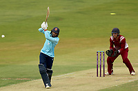 Aron Nijjar of Essex hits out during Essex Eagles vs Cambridgeshire CCC, Domestic One-Day Cricket Match at The Cloudfm County Ground on 20th July 2021
