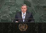 72 General Debate – 20 September <br /> <br /> by His Excellency Giorgi Kvirikashvili, Prime Minister of Georgia