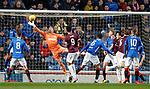 03.04.2019 Rangers v Hearts: Allan McGregor saves