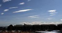 BOGOTA -COLOMBIA- 19 -10-2013. Nubes / clouds .Photo: VizzorImage / Felipe Caicedo / Staff