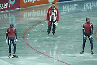 SPEEDSKATING, WK Allround Moskou 2005 Shani Davis, ©foto Martin de Jong