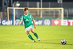 12.09.2020, Ernst-Abbe-Sportfeld, Jena, GER, DFB-Pokal, 1. Runde, FC Carl Zeiss Jena vs SV Werder Bremen<br /> <br /> <br /> Yuya Osako (Werder Bremen #08)<br /> Einzelaktion, Ganzkörper / Ganzkoerper  Querformat<br /> <br />  <br /> <br /> <br /> Foto © nordphoto / Kokenge