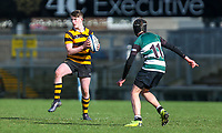 Tuesday 10th March 2020 | Campbell College vs RBAI <br /> <br /> Jack Parkinson during the 2020 Medallion Shield Final between Campbell College and RBAI at Kingspan Stadium, Ravenhill Park, Belfast, Northern Ireland. Photo by John Dickson / DICKSONDIGITAL