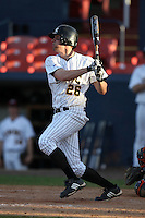March 14, 2010:  Third Baseman Curtis Schickner of UMBC in a game vs. Bucknell at Chain of Lakes Stadium in Winter Haven, FL.  Photo By Mike Janes/Four Seam Images