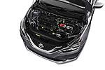 Car Stock 2017 Nissan Sentra S 4 Door Sedan Engine  high angle detail view