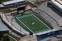 aerial photograph of Apgoee Stadium, Univeristy of North Texas Mean Green football, Denton, Texas