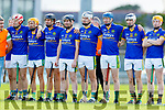 The Lixnaw team Before the Senior Kerry County Hurling Semi Finals between Lixnaw v Kilmoyley at Austin Stack park on Saturday last.