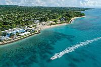 The west coast near Holetown, St. James, Barbados