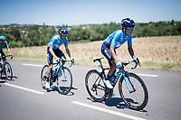 Nairo Quintana (COL/Movistar)<br /> <br /> Stage 5: Boën-sur-Lignon to Voiron (201km)<br /> 71st Critérium du Dauphiné 2019 (2.UWT)<br /> <br /> ©kramon