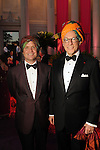 """Christopher Gardner and Gary Tinterow at the Museum of Fine Arts Houston's 2013 Grand Gala """"India"""" Friday Oct. 04,2013.(Dave Rossman photo)"""