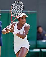 29-06-12, England, London, Tennis , Wimbledon, Sloane Stephens