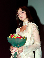 Montreal, August 25th, 2000<br /> <br /> Jury member and Portuguese actress - director Maria de Medeiros pose for photrographers at the opening night of the 24th World Film Festival in Montreal, Canada.<br /> <br /> Among her better roles are those of Bruce Willis'girlfriend in `` Pulp Fiction `` and of Anais Nin in `` Henry and June ``. She won the Best actress award at the 1994 Venice Festival for her role in Teresa Villaverde's `` Três Irmao` ``.Her directorial debut ;  `` April Captain `` is showing in this year World Film Festival.<br /> <br /> Photo by Pierre Roussel / Images Distribution