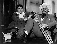 Woman anarchist leader and aid in draft war.  Emma Goldman and Alexander Berkman convicted of conspiracy against draft law and sentenced to two years in penitentiary and finied $10,000 each, July 9, 1917.  IFS.   (War Dept.)<br /> NARA FILE #:  165-WW-164B-6<br /> WAR & CONFLICT BOOK #:  690