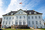 16-04-2014 Balcony Marselisborg Castle in Aarhus. <br />