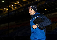 Bolton Wanderers' Adam Senior arriving at the stadium <br /> <br /> Photographer Andrew Kearns/CameraSport<br /> <br /> The EFL Sky Bet League Two - Bolton Wanderers v Mansfield Town - Tuesday 3rd November 2020 - University of Bolton Stadium - Bolton<br /> <br /> World Copyright © 2020 CameraSport. All rights reserved. 43 Linden Ave. Countesthorpe. Leicester. England. LE8 5PG - Tel: +44 (0) 116 277 4147 - admin@camerasport.com - www.camerasport.com