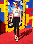 Elizabeth Banks attends The Warner Bros' Pictures L.A. Premiere of The Lego Movie held at The Regency Village in Westwood, California on February 01,2014                                                                               © 2014 Hollywood Press Agency
