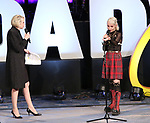 """Julie Halston hosts First Look with Sophia Anne Caruso previewing """"Beetlejuice"""" during BroadwayCon at New York Hilton Midtown on January 13, 2019 in New York City."""
