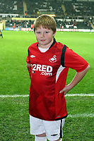ATTENTION SPORTS PICTURE DESK<br /> Pictured: Swansea City mascot<br /> Re: Coca Cola Championship, Swansea City Football Club v Plymouth Argyle at the Liberty Stadium, Swansea, south Wales. Tuesday 08 December 2009