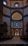 Nave and Altar Marble Pavement Crucifix Benedetto da Maiano 1497 Santa Maria del Fiore Florence