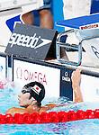 Kosuke Hagino (JPN),<br /> JULY 28, 2013 - Swimming : Silver medalist Kosuke Hagino of Japan looks on during the men's 400m freestyle final during the World Swimming Championships at the Sant Jordi arena in Barcelona, Spain.<br /> (Photo by Daisuke Nakashima/AFLO)