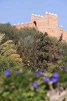 Afrique/Afrique du Nord/Maroc/Rabat: Chellah - la muraille