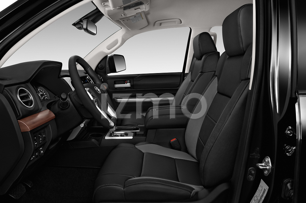 Front seat view of 2018 Toyota Tundra Limited-Crew-Max-Short-Bed 4 Door Pickup Front Seat  car photos