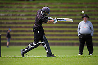 Action from the Ewen Chatfield Trophy Wellington premier men's division one cricket one-day match between Onslow and Karori at Nairnville Park in Wellington, New Zealand on Saturday, 24 October 2020. Photo: Dave Lintott / lintottphoto.co.nz