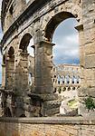 Croatia, Istria, Pula: the Pula Arena (amphitheatre) | Kroatien, Istrien, Pula: das Amphitheater 'Pula Arena'