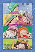 Interlitho, Soledad, CHRISTMAS CHILDREN, naive, paintings, kids world, 4 seasons(KL3224/2,#XK#) Weihnachten, Navidad, illustrations, pinturas