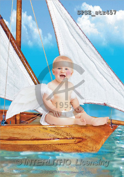 Jose, BABIES, photos, babyangel, boat(SPSZSTZ457,#B#) bébé