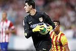 Atletico de Madrid's Thibaut Courtois during Supercup of Spain 1st match.August 21,2013. (ALTERPHOTOS/Acero)