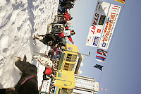 March 3, 2007  Ray Redington Jr.  during the Iditarod ceremonial start day in Anchorage
