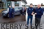 Paul Geaney receives the keys to his new 201 from Noel O'Connor of Adams of Tralee on Monday.<br /> Front: Paul Geaney and Noel O'Connor.<br /> Back l to r: Oisin Shannon, Donie Shine, Marcus O'Shea and Courtney O' Dwyer.
