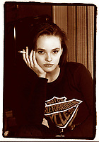 1989 FILE Photo, Montreal, Canada<br /> <br /> French actress and singer Vanessa Paradis during an 1989interview in Montreal<br /> <br /> Mandatory Credit: Photo by Pierre Roussel- Images Distribution. (©) Copyright 1989 by Pierre Roussel