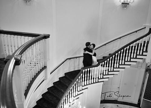 Abigail Kirsch at Tappan Hill Mansion<br /> Wedding Rotunda Portraits
