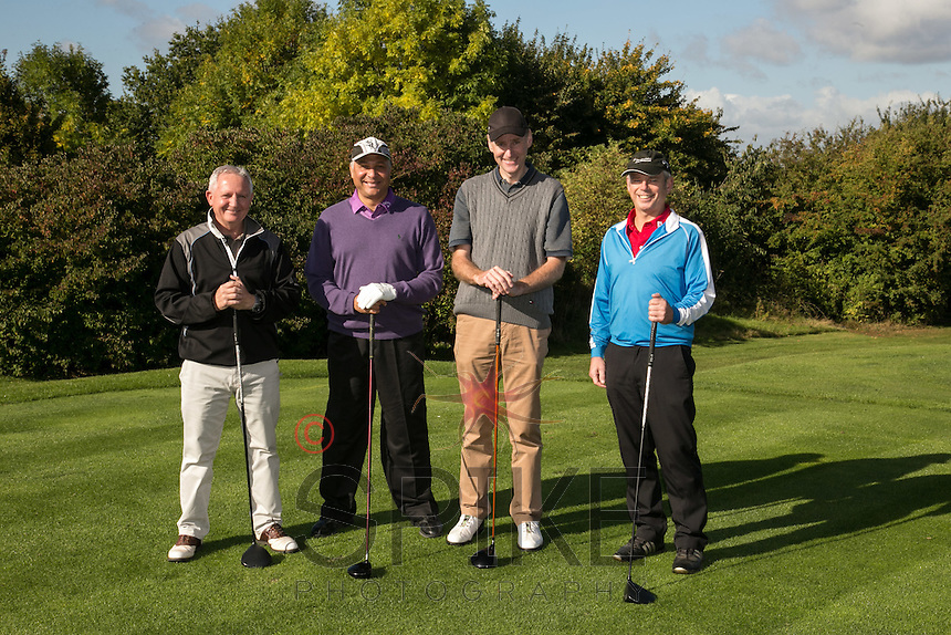 The team from Resin Surfaces from left are Ray Osbourne, Dale Banton, Jeremy Waterhouse and Rob Sharpley