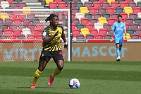 Joseph Hungbo of Watford in action during Brentford vs Watford, Sky Bet EFL Championship Football at the Brentford Community Stadium on 1st May 2021