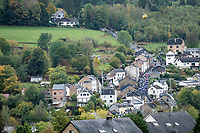 The iconic Côte de Saint-Roche in Houffalize from a different angle...<br /> <br /> 106th Liège-Bastogne-Liège 2020 (1.UWT)<br /> 1 day race from Liège to Liège (257km)<br /> <br /> ©kramon