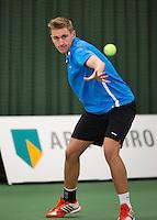 19-01-13, Tennis, Rotterdam, Wildcard for qualification ABNAMROWTT, Daan van Randtwijk